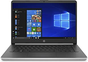 HP 14-Inch Laptop, 10th Gen Intel Core i3-1005G1, 4 GB SDRAM, 128 GB Solid-State Drive, Windows 10 Home in S Mode (14-dq10...
