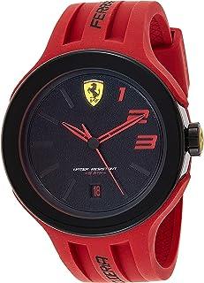 Ferrari Scuderia FXX For Men Black Dial Silicone Band Watch - 830220