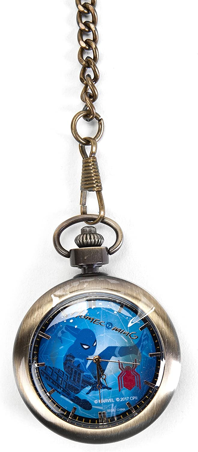 Marvel Spider-Man  Homecoming Spider-Man Swinging Pocket Watch