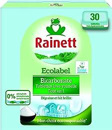 Rainett Tablettes lave-vaisselle tout en 1 au bica