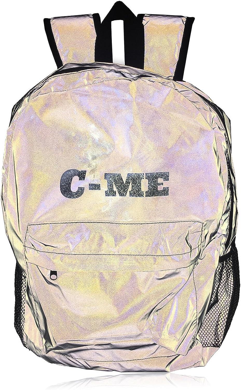 C-ME, Unisex, Erwachsene (nur Gepck) Kinderrucksack Silber One Größe (Hardcode)