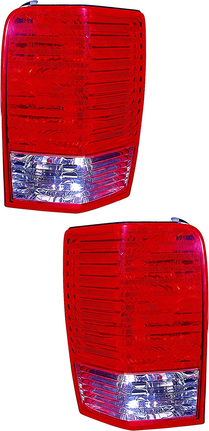 For Chrysler Aspen Outer おすすめ特集 Tail Light 2009 2008 2007 and Driver Pa 春の新作