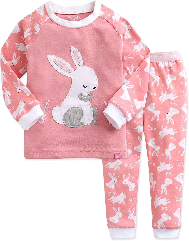 Vaenait baby 12M-7T Kids Boys Sleepwear Pajama Top Bottom 2 Pieces Set Long Cloud