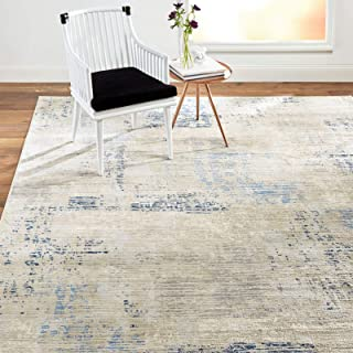 """Home Dynamix Melrose Lorenzo Contemporary Abstract Area Rug, 1'6""""x2'6"""" Rectangle, Gray/Blue"""