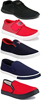 Shoefly Sports Running Shoes/Casual/Sneakers/Loafers Shoes for Men&Boys (Combo-(5)-1219-1221-1140-466-1017)