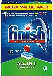 Finish Powerball All in 1 Maskindiskmedel 112 st