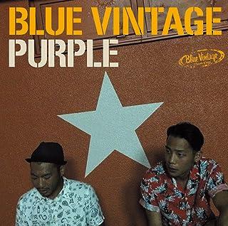 PURPLE Blue Vintage