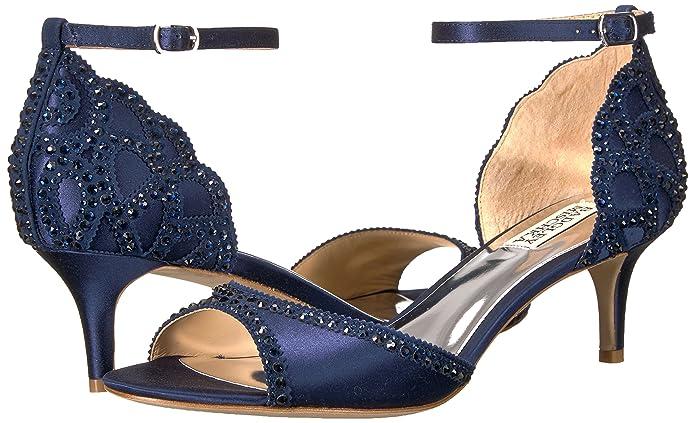 Badgley Mischka Womens Gillian Heeled Sandal