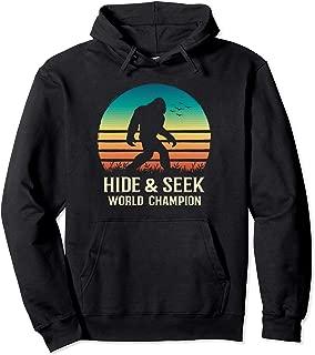 Hide and Seek World Champion Hoodie Bigfoot Believer Gift