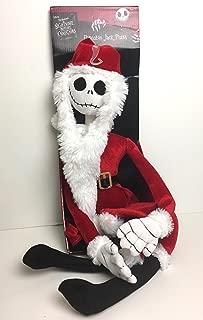 Nightmare Before Christmas The Poseable Jack Skellington as Santa Plush