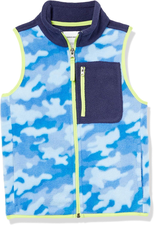 Amazon Essentials Boys' Polar Fleece Vests