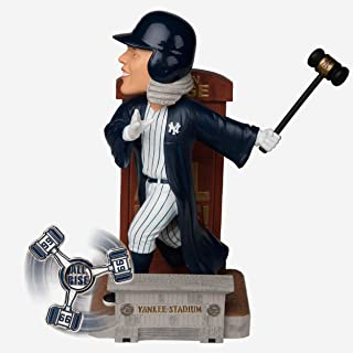 FOCO MLB New York Yankees Judge A Exclusive Judgement Day Bobble #99 Bobble, Team Color, One Size