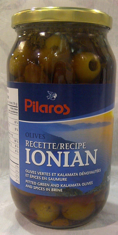 Pilaros - Ionian Kalamata Ass. Houston Mall Mixed Green Olives Ranking TOP20 1L