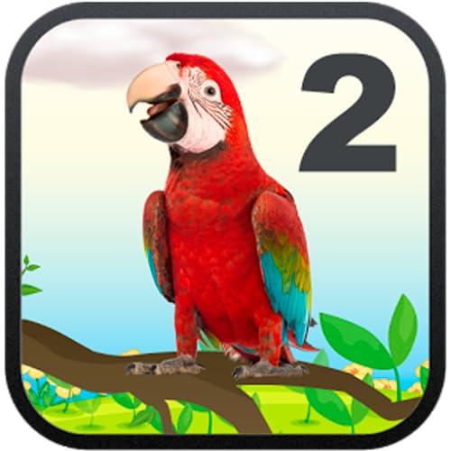 Echtsprechenden Papagei
