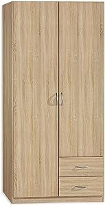 Roller Case–Revolving Door Cabinet Sonoma Oak–3FT