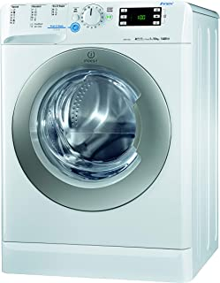 Indesit 10Kg, 1400RPM Front Load Washing Machine, Made in Italy, White - F085594