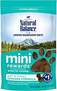 Sponsored Ad - Natural Balance Mini Rewards Dog Treats, 4 Ounce, Training Treats (Packaging May Vary)