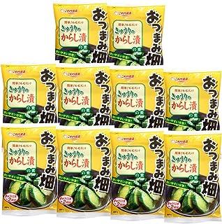 ニチノウ食品 おつまみ畑 きゅうりのからし漬の素 ×10袋