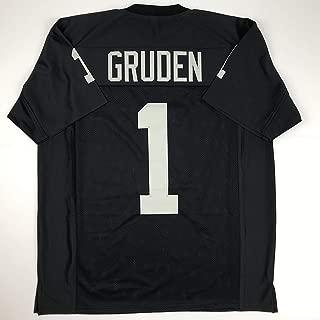 Unsigned Jon Gruden Oakland Black Custom Stitched Football Jersey Size Men's XL New No Brands/Logos