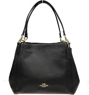 Coach Pebble Leather Hallie Shoulder Bag