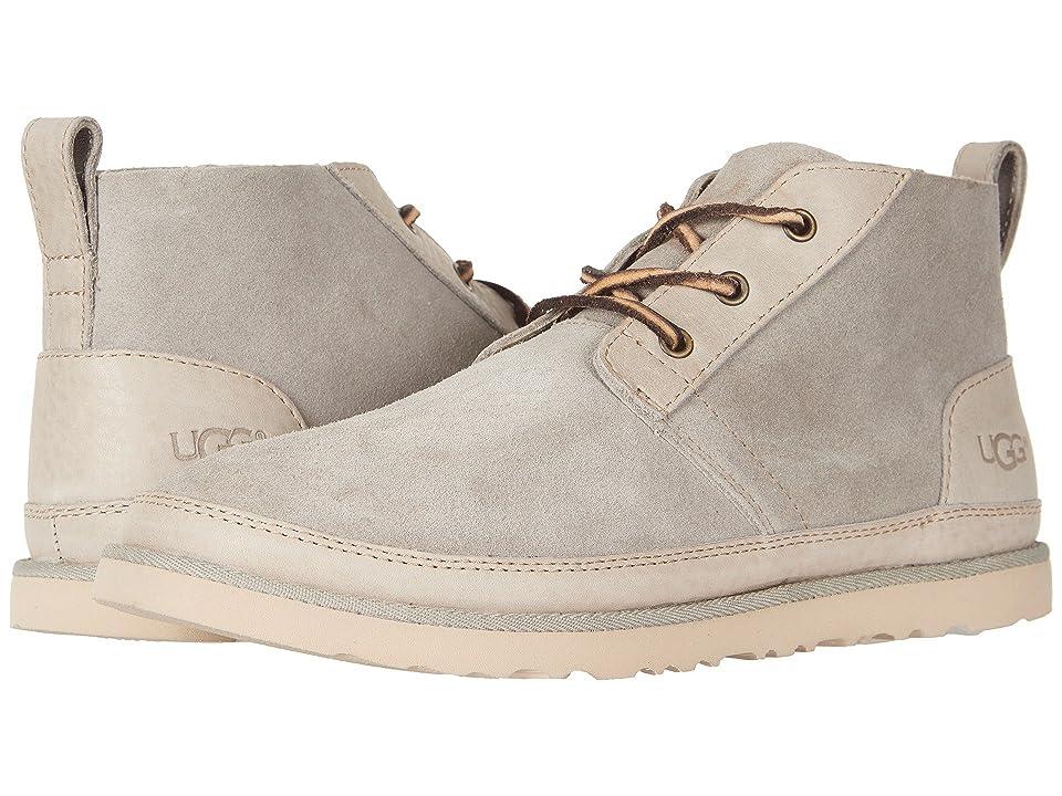 UGG Neumel Unlined Leather (Pumice) Men