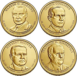 2014 P Presidential Dollar 4-Coin P Mint Uncirculated