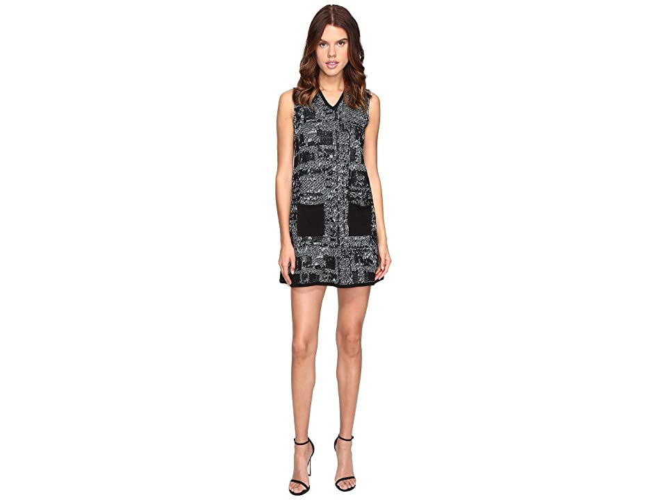 M Missoni Lurex Tweed Dress (Ice) Women