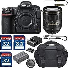 Nikon D850 DSLR Camera with AF-S 24-120mm VR Lens + 3 Memory Card Bundle