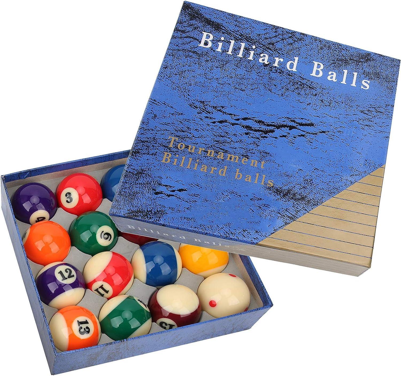 VGEBY 16Pcs Billiard Balls 1 year warranty Set Resin B Pool Gloss 25% OFF