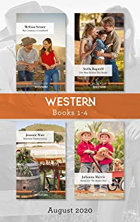 Western Box Set 1-4 Aug 2020/The Cowboy's Comeback/Her Man Behind the Badge/Montana Homecoming/Twins for the Rodeo Star
