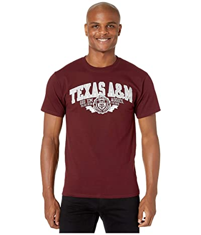 Champion College Texas AM Aggies Jersey Tee (Maroon 3) Men