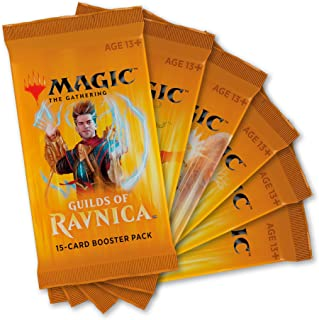Magic: The Gathering Guilds of Ravnica Boosters | 6 Booster Packs (90 Cards)