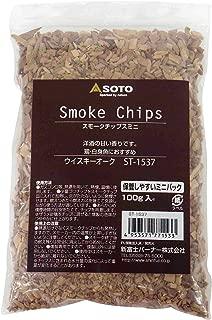 ソト(SOTO) スモークチップスミニ ウィスキーオーク ST-1537