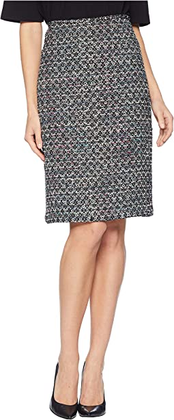 Boucle Sequin Skirt