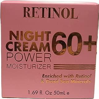 Retinol Power Moisturizer Night Cream 60+, 1.69 fl. oz.