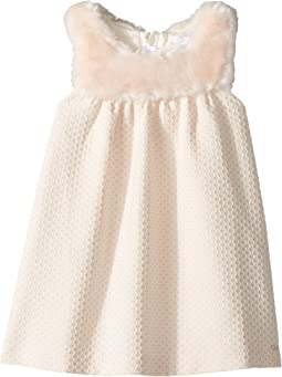 Chloe Kids - Sleeveless Faux Fur Dress (Toddler)