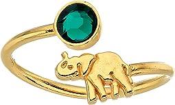 Alex and Ani - Elephant Ring Wrap - Precious Metal