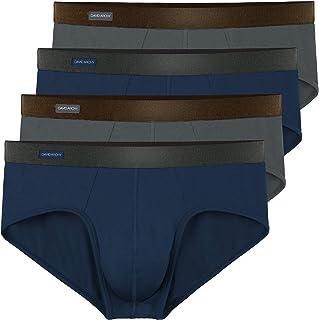 SCHIESSER Herren Unterhose atmungsaktiv Shorts Slip Personal Fit Multipack