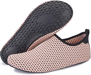 f2f9fa198f4 Barerun Barefoot Quick-Dry Water Sports Shoes Aqua Socks for Swim Beach  Pool Surf Yoga
