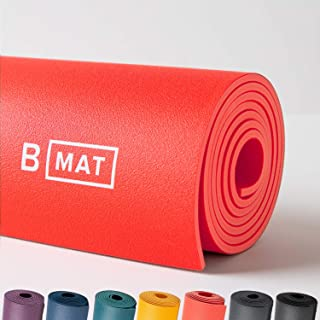 B YOGA Strong 6mm B Mat, 100% Rubber High Performance Super Grip Non Slip OEKOTex Certified - for Yoga, Pilates, Workout a...