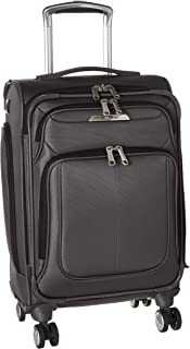 Samsonite Solyte DLX Expandable Softside Carry On with Spinner Wheels, 21 Inch, Mineral Grey