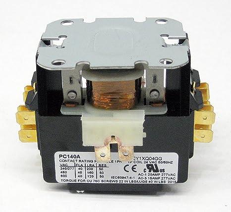 Air Conditioner 24 volt 1 Single Pole Contactor Relay