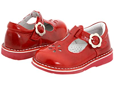 Kid Express Molly (Toddler/Little Kid/Big Kid) (Red Burnished Leather) Girls Shoes