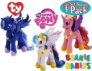 cce36c33ed8 Amazon.com  My Little Pony Stuffed Animal   Plush Toys