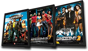 Set of 3 (Dhoom / Dhoom 2 / Dhoom 3) (Bollywood Movies / Indian Cinema / Hindi Film)