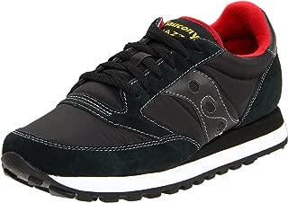 Men's Jazz Original Fashion Sneaker,Black/Red,11.5 M US