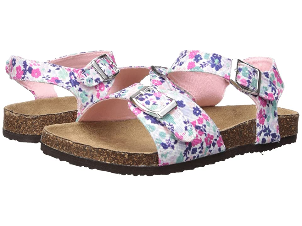 Joules Kids Tippy Toes Sandal (Toddler/Little Kid/Big Kid) (Pretty Ditsy) Girls Shoes