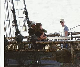 Johnny Depp & Penélope Cruz Pirates of the Caribbean On Stranger Tides 8x10 Production Photo