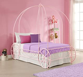 Best pink princess carriage bed Reviews