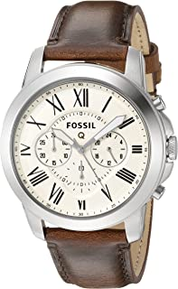 Grant Gen 1 Hybrid Brown Leather Smartwatch